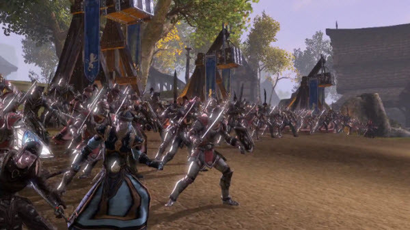 The Elder Scrolls Online Cyrodiil Battle