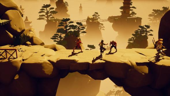 9 Monkeys of Shaolin Unreal Engine 4