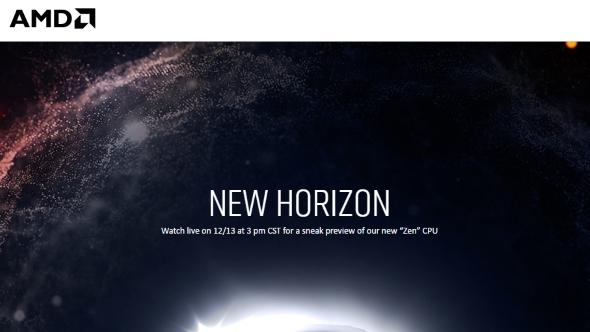 AMD Zen New Horizon