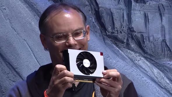 Tim Sweeney's AMD RX Vega Nano