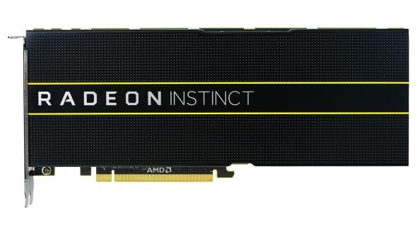 AMD Radeon Instinct professional GPUs