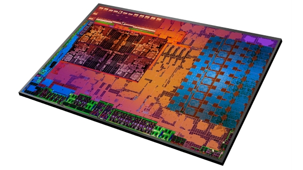 AMD Raven Ridge die shot
