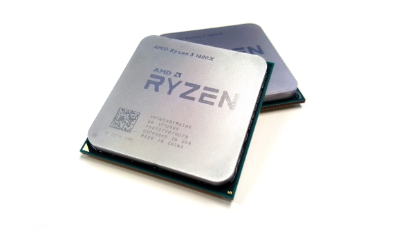 A real AMD Ryzen CPU