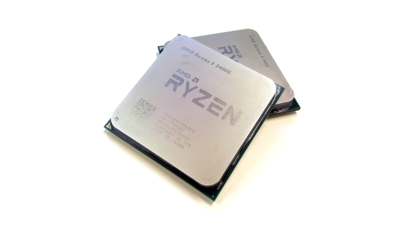 AMD Ryzen 5 2400G and 1400