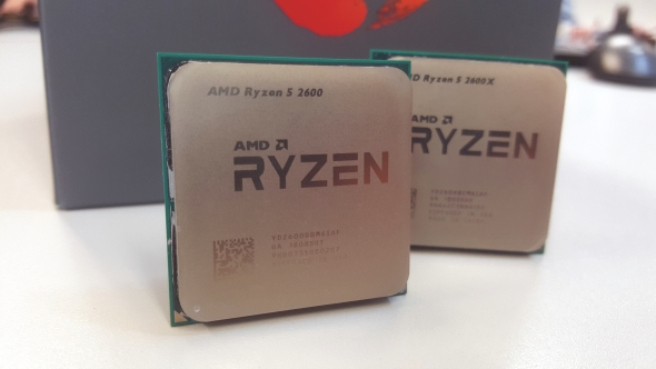 AMD Ryzen 5 2600 vs 2600X