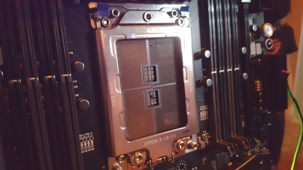 AMD TR4 Threadripper socket