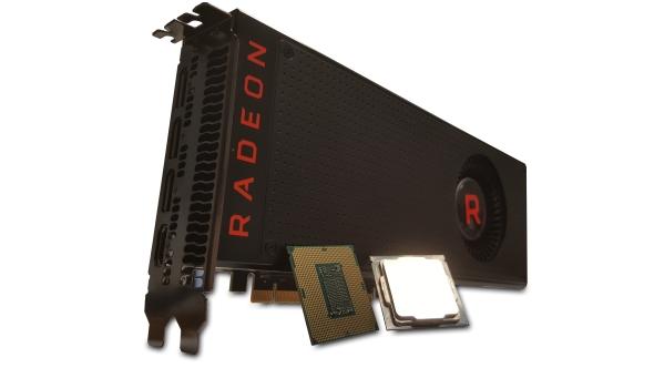 AMD Vega and Intel Coffee Lake