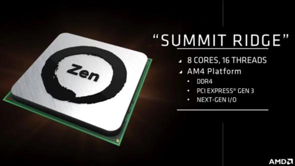 AMD Zen specs