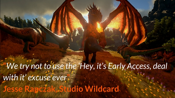 ARK Early Access quote