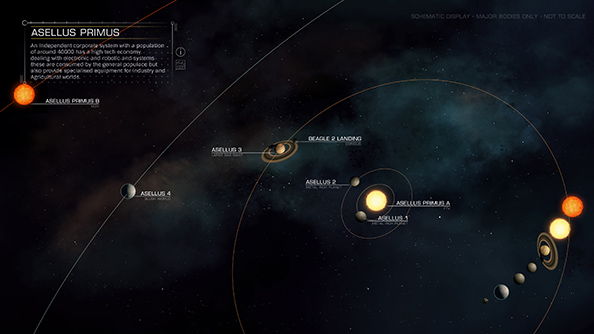 Take A Look At These Beautiful Elite Dangerous System Maps Pcgamesn