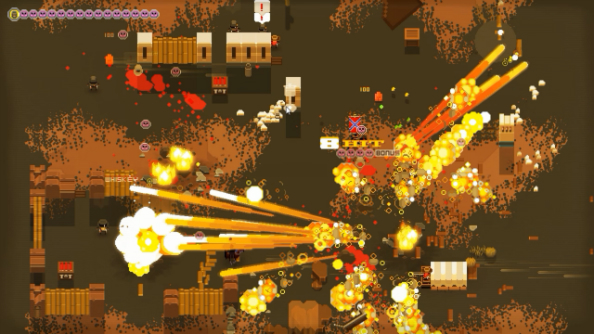Top-down co-op Western A Fistful of Gun fires onto PC next month