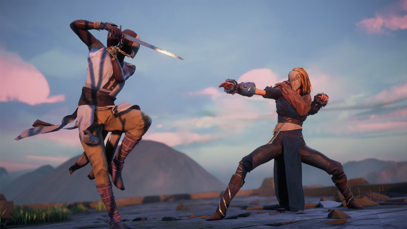 Absolver stagger style