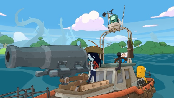 Adventure Time goes open-world in the upcoming Pirates of The Enchiridion