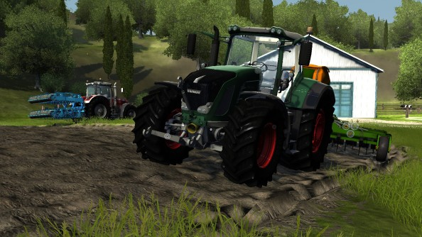 Agricultural Simulator 2013 has chirpy trailer, 100 vehicles and modifications, is out in November