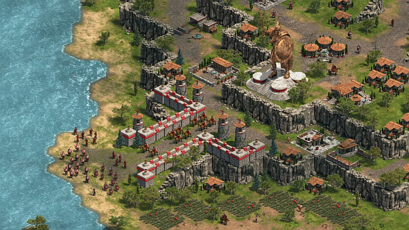 Age of Empires, looking gorgeous. Wololo.