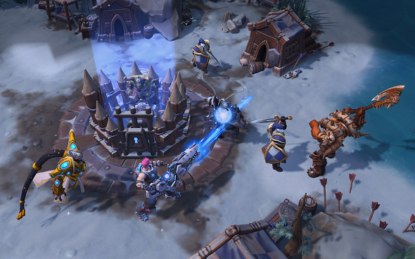 Meet your new Heroes of the Storm map, Alterac Pass