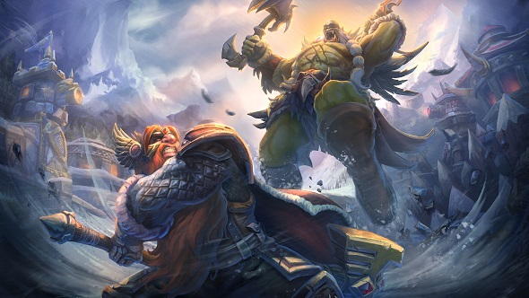 Heroes of the Storm Alterac Pass Echoes of Alterac Loading Screen