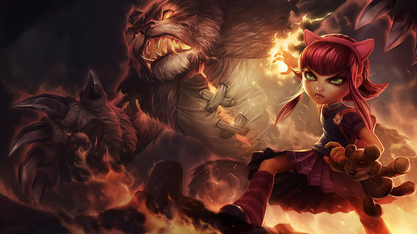 Strongest lol champs 6.18 Annie