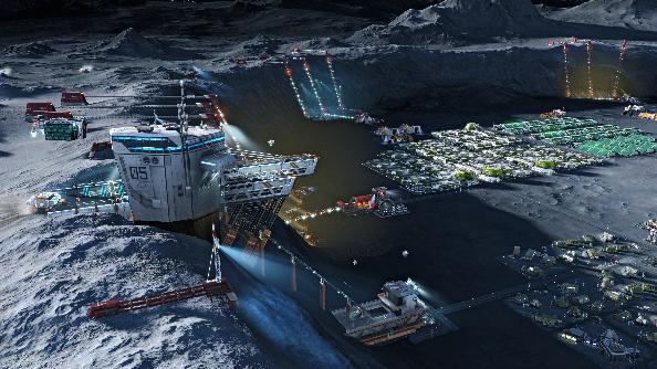 Anno 2205 moon colony