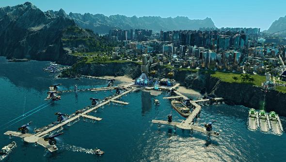 Anno 2205 port
