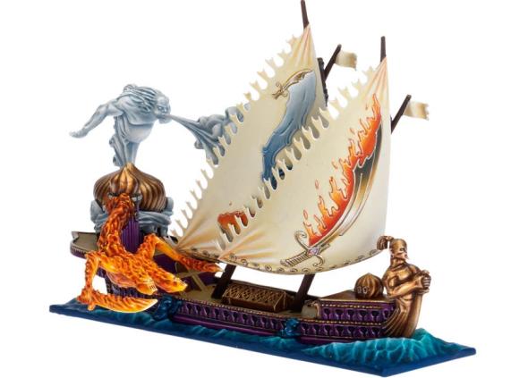 An Arabyan ship in Dreadfleet, one of GW's many minor games