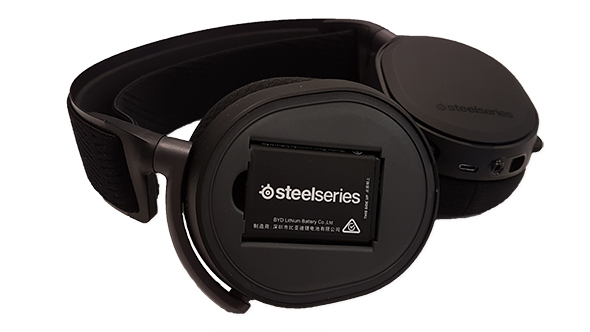 SteelSeries Arctis Pro Wireless battery