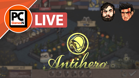 Watch us steal from each other in Antihero, live now