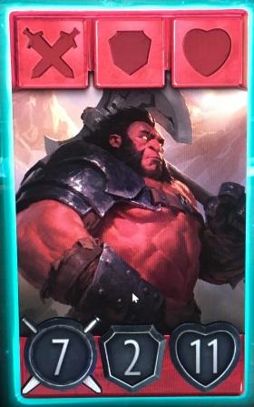 Artifact Axe hero card