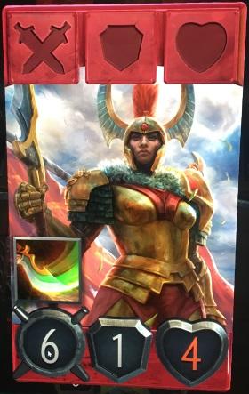Artifact Legion Commander hero card