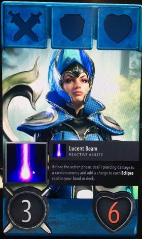 Artifact Luna hero card