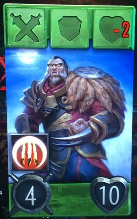 Artifact Lycan hero card