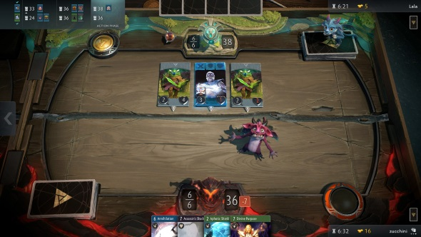 How to play Artifact - attacking