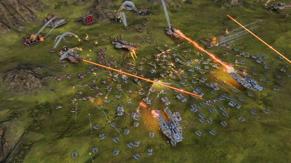 "Massive scale RTS Ashes of the Singularity is now in ""Founder's Program"" early access"