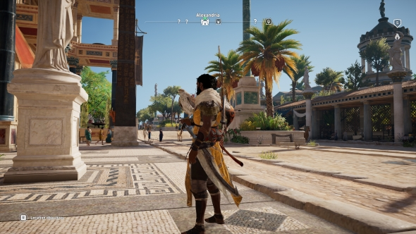 Assassin's Creed Origins PC graphics Low