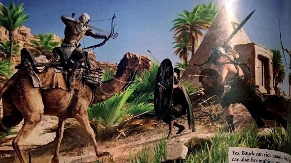 Control Arrows With Your Mind In Assassin S Creed Origins Debut