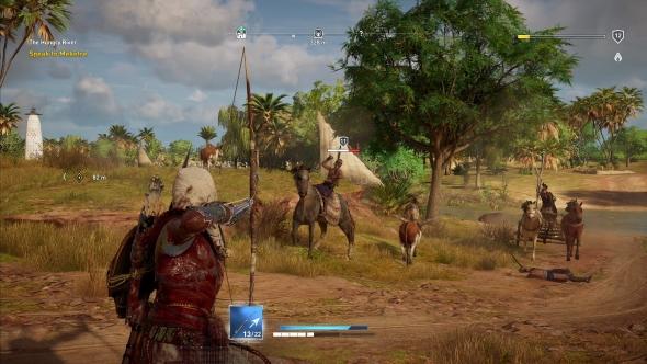 Assassin's Creed Origins archery