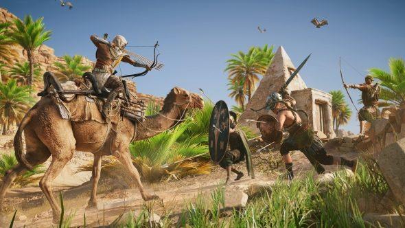 Assassin's Creed Origins camel