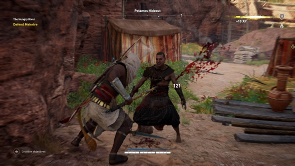 Assassin's Creed Origins has its sights set on The Witcher's