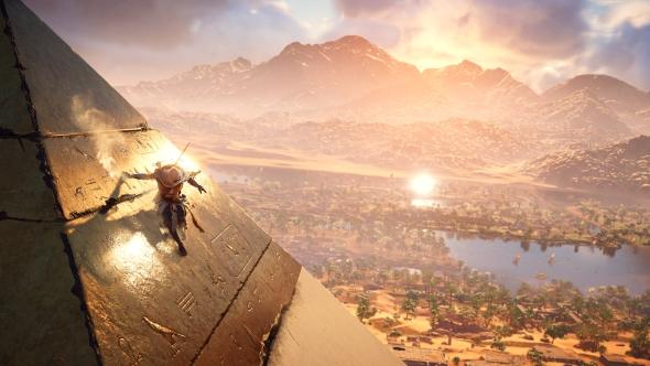 Assassin's Creed Origins pyramids