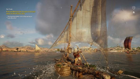 Assassin's Creed Origins boats