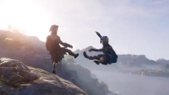 Assassin's Creed Odyssey kick