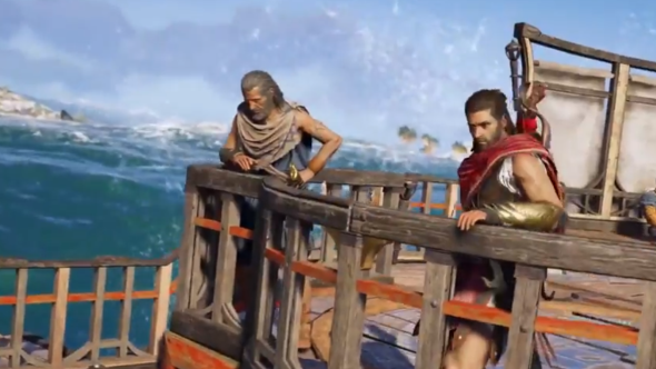 Assassin's Creed Odyssey crew