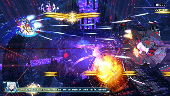 Astebreed gameplay