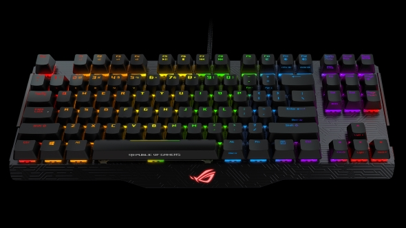 """The wait is almost over!"" Asus tease their long-awaited ROG Claymore keyboard"