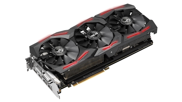 Asus ROG RX Vega STRIX or is it an Nvidia STRIX? So confusing...