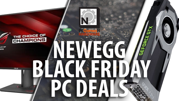 Newegg Black Friday PC deals - RX 470 and Hitman for $160, mini GTX 1060 for $225