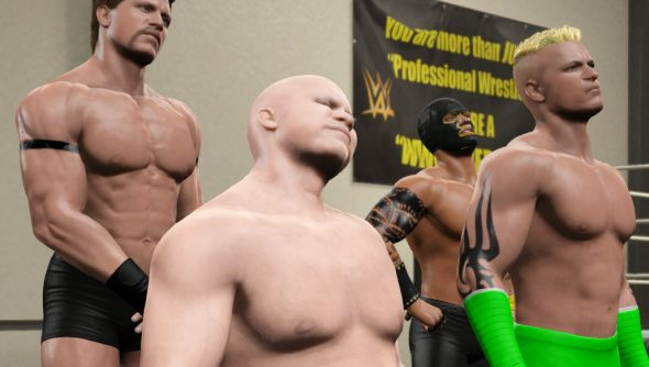 WWE 2K career mode diary