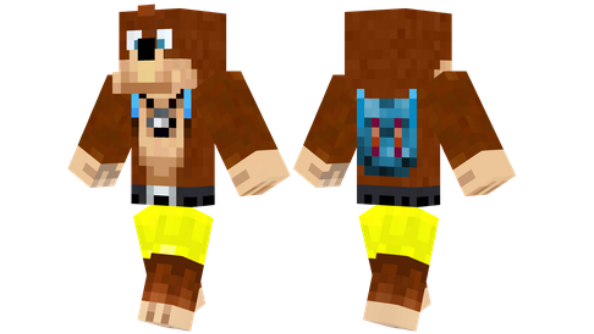 best minecraft skins Banjo