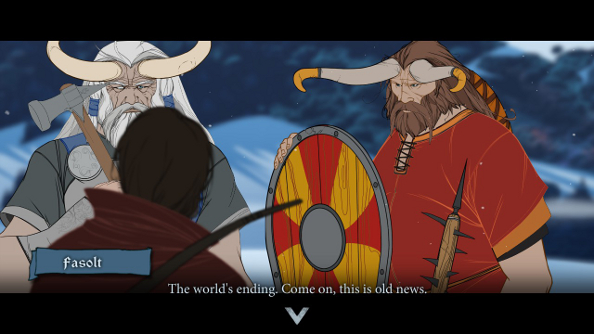 The Banner Saga 2 unveiled at The Game Awards