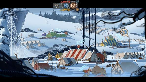 The Banner Saga base camp